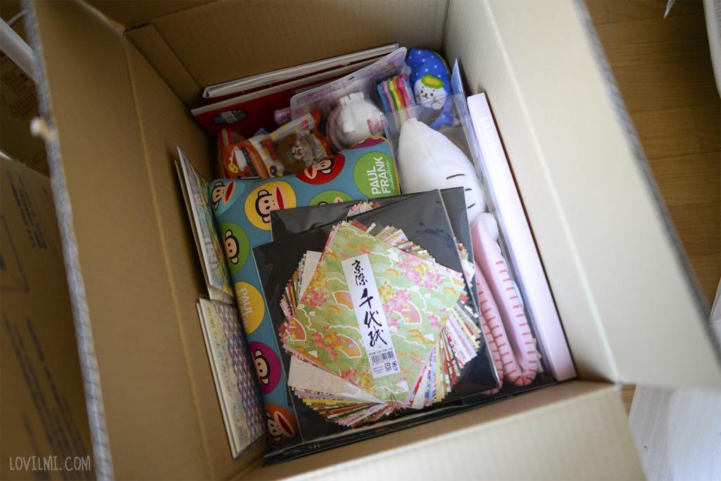 caja de regalitos